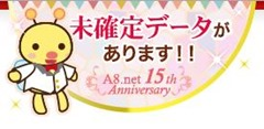 A8ネット15周年記念蜂